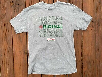 $19.99 • Buy Krispy Kreme Original HOT NOW Gray Graphic T-Shirt Men's Size Large