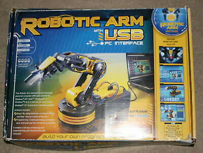 Robotic Arm With USB PC Interface Educational Game • 15£