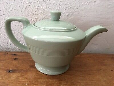 Vintage 1940's Woods Ware Beryl Pale Green Teapot For One • 13.13£