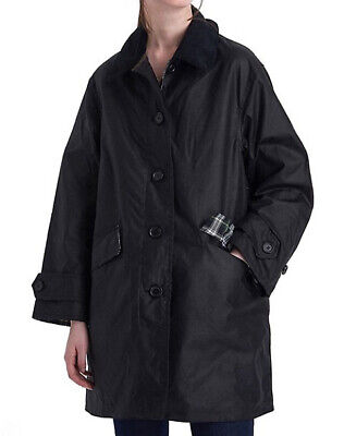 AU516.75 • Buy NWTs $675 Barbour X Alexa Chung Cropped Maisie Waxed Cotton Jacket. Black. 10 US