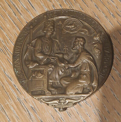 700th Anniversary Of The Foundation Of Liverpool Commemorative Coin 1907 • 149.50£