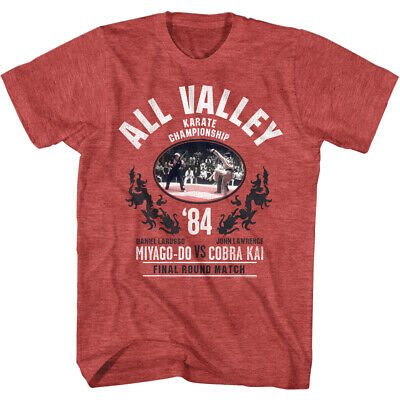$29.99 • Buy Karate Kid Cobra Kai T-Shirt 1984 All Valley Finals Daniel Vs Johnny New Merch