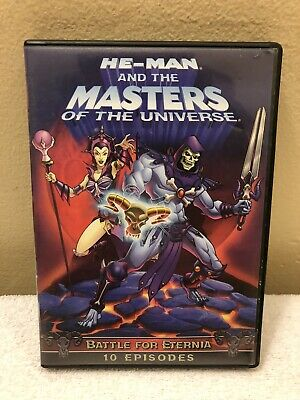 $9.99 • Buy He-Man And The Masters Of Universe: Battle Of Eternia DVD 10 Episodes