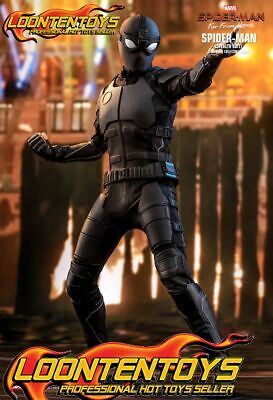 $ CDN302.29 • Buy Hot Toys 1/6 MMS540 - Spider-Man: Far From Home Spider-Man (Stealth Suit) READY
