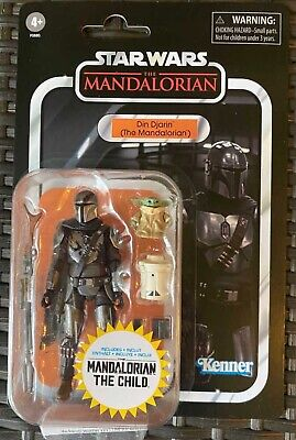 $ CDN41.59 • Buy Star Wars Vintage Collection Din Djarin & Child Mandalorian IN HAND SHIPS NOW