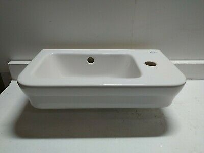 Ideal Standard Cloakroom Basin Sink 450mm 1 Tap Hole Right Hand Side • 60£