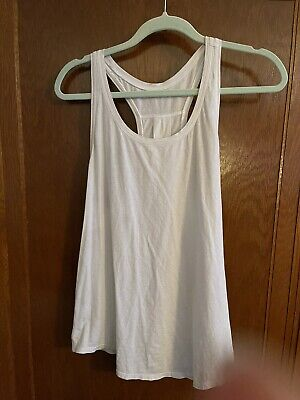 $ CDN22.97 • Buy Lululemon White Sheer Tank Top Size 6
