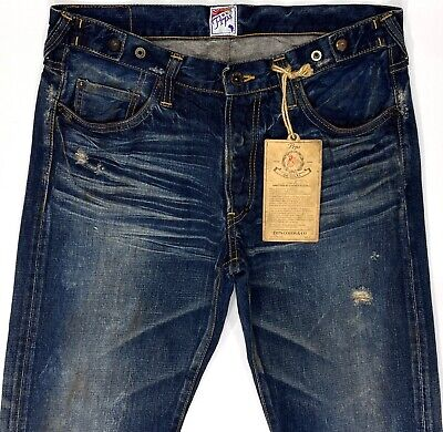PRPS Barracuda Distressed Stained Made In JAPAN Sample Jeans 32x34  • 178.88£