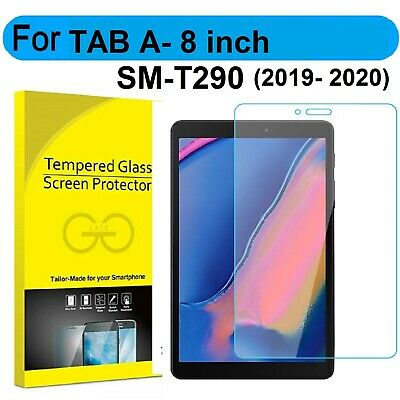 £3.99 • Buy TEMPERED GLASS Screen Protector For Samsung Galaxy Tab A 8.0 2019 (SM-T290/T295)