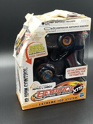 AU45.53 • Buy Beyblade Extreme Top System IR Spin Control Mateo L-Drago New