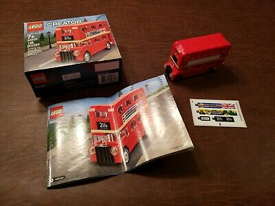 $ CDN19.13 • Buy LEGO 40220 Creator Double Decker London Bus  Complete + Box + Instruction, USED