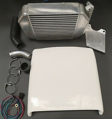 AU799 • Buy Top Mount Intercooler Kit For Toyota Landcruiser 75 /79 Series 1HZ 4.2L Diesel