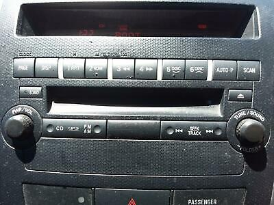 AU165 • Buy Mitsubishi Outlander Stereo/head Unit Head Unit Only, 6 Disc Cd Stacker, Zg-zh,