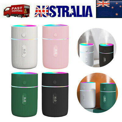 AU14.99 • Buy Portable Air Humidifier Aroma Aromatherapy Ultrasonic USB Diffuser Oil Purifier