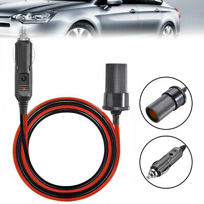 Car Cigarette Cigar Lighter Extension Cable Adapter Socket Charger Cord  5M • 6.90£