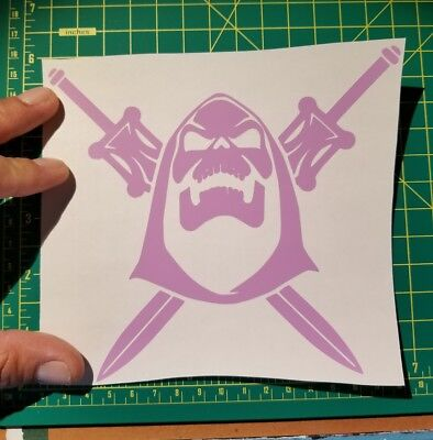 $2.25 • Buy Masters Of The Universe Skeletor 6  Vinyl Car / Wall Decal Sticker Color Choice