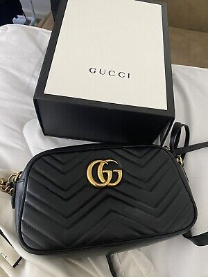 AU1250 • Buy GG Marmont Small Matelassé Shoulder Bag