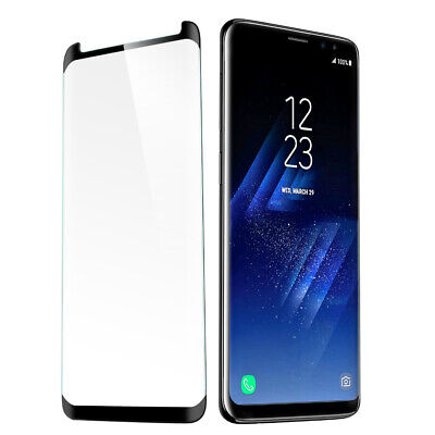 $ CDN2.99 • Buy For Samsung S8 S9 Plus Note8 Full Cover Curved Temper Glass Screen Protector