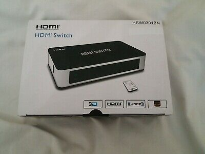HDMI Switch Box - 3 Port To TV- See Box For Spec • 2.10£