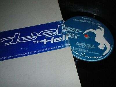 Deep Blue – The Helicopter Tune      1993   MOVING SHADOW RECORDS • 9.99£