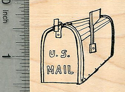 $12.99 • Buy Mailbox Rubber Stamp, USPS Mail Series E37809 WM