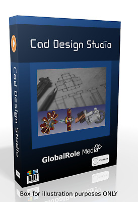 2D & 3D Modelling Suite. Computer Aided Design CAD Software Windows  • 3.95£