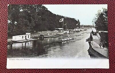 Oxford College Barges Oxfordshire Post Card  • 2.80£