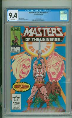 $74.99 • Buy Masters Of The Universe #1 9.4 CGC 1st Issue 1986