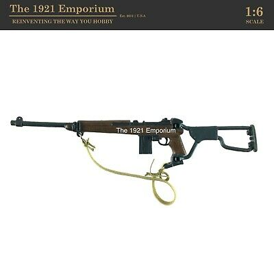$16.99 • Buy 1:6 Scale 21st Century Toys Ultimate Soldier WWII US Army Airborne M1A1 Carbine