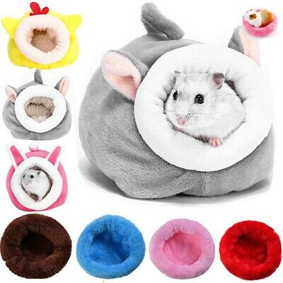 £1.99 • Buy Cute Soft Hamster House Guinea Pig Accessories Hamster Cotton Nest Winter Warm
