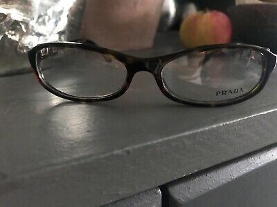Brand New Brown Tortoise Shell Prada Reading Glasses With Case And Cloth • 15.50£