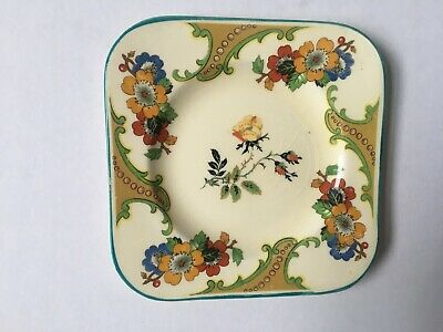 Woods Ivory Ware H.T.O Sons 6 Side Plates C1930. Perfect Condition. 5 Inch Wide • 12.50£