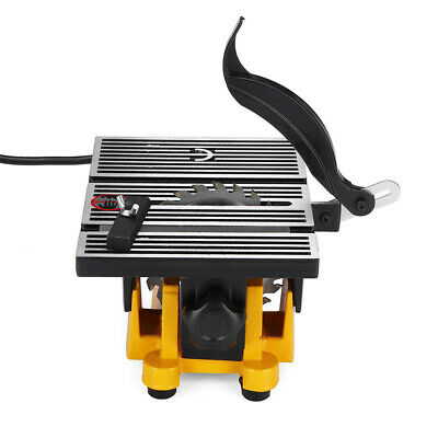 4 Portable Mini Table Saw Cutter Bench Cutting Machine Plastic Wood Metal4500rpm • 42.70£