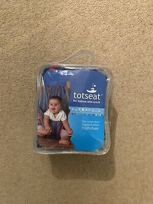 Totseat Travel Seat High Chair Portable • 3£