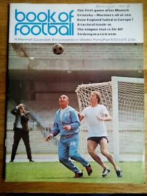 Marshall Cavendish Encyclopedia - Book Of Football - Part 63 - ALF RAMSEY • 3£