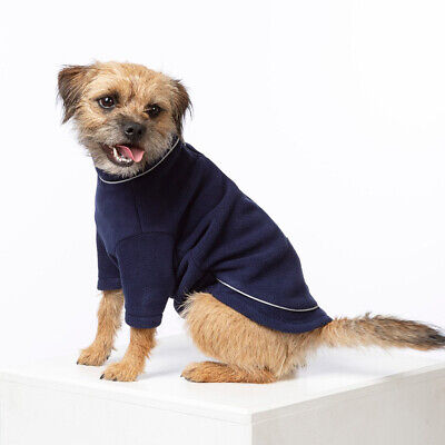£11.89 • Buy Rydale Fleece Dog Jumper Dogs Coat Jacket Outfit Clothes Pet Puppy 22 Colours