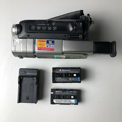 $ CDN216.86 • Buy NICE Sony CCD-TRV57 8mm Video8 XR Camcorder Player Camera Video Transfer TESTED