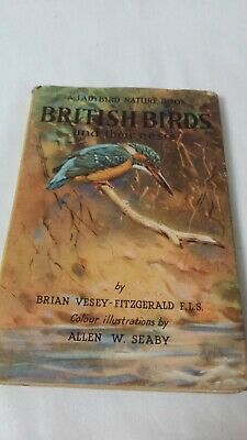 Ladybird Nature Book, British Birds And Their Nests, B. Vesey-Fitzgerald • 7£