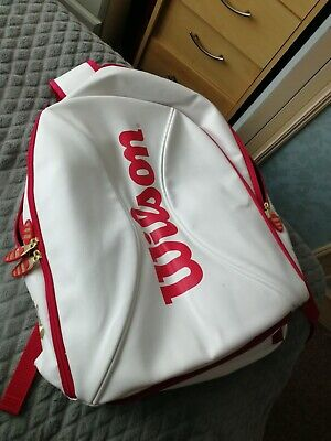 Wilson Tennis Backpack 100 Year White Gold. • 25£