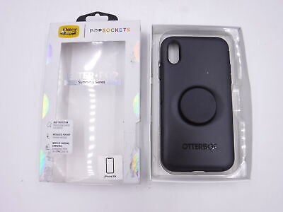 AU83.85 • Buy OtterBox W/ Popsocket Black Case For IPhone Xr 77-62428