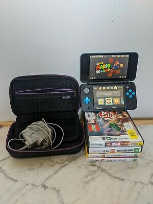 AU202.50 • Buy Nintendo 2DS XL 'Very Good Condition' - 4 GAMES And CARRY CASE Bundle