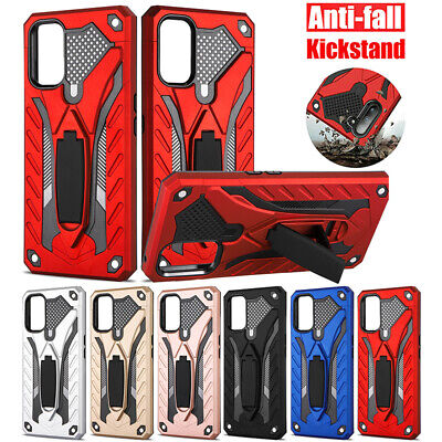 AU12.99 • Buy For OPPO Realme 7/6/5 C17 C15 C11 Reno 4 2 Z X Case Armor Shockproof Stand Cover