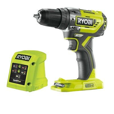 Ryobi 18v One+ Cordless Brushless Percussion Drill - Battery Not Included • 54.99£