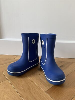 Crocs Crocband™ Blue Jaunt Boot Wellingtons Size Uk J 3 Wellie Boots Puddle Boot • 10£