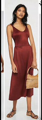 AU38 • Buy Mango Brand New With Tags Ladies Red Dress Size Small