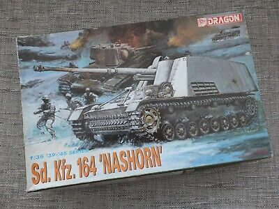 Dragon 6001 - German Sd.kfz.164 Nashorn - Rare 1/35 Model Kit • 35£