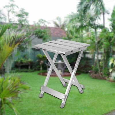 Multifunction Outdoor Folding Stool Portable Chair Camping Hiking Aluminum Alloy • 15.15£