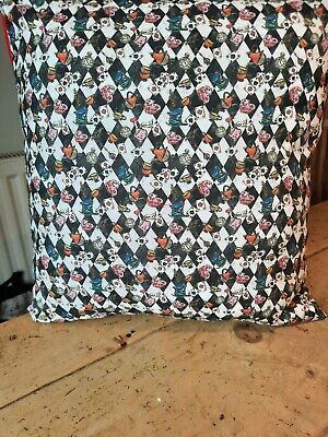 Handmade Alice In Wonderland Cushion Cover • 10.50£