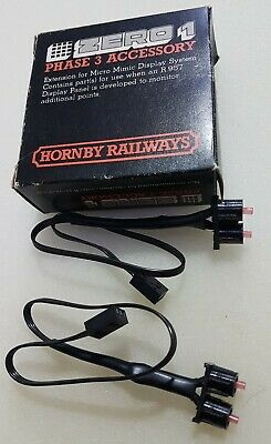 HORNBY ZERO 1 R954 Pack Of 2 PAIRS OF DISPLAY LED'S. Brand New Old Shop Stock  • 12.99£