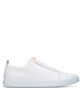 £80 • Buy Camper Imar K100519-002 Men Trainers Leather / Calfskin / Technical Fabric White